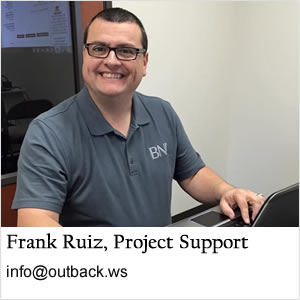 Frank Ruiz Outback Solutions